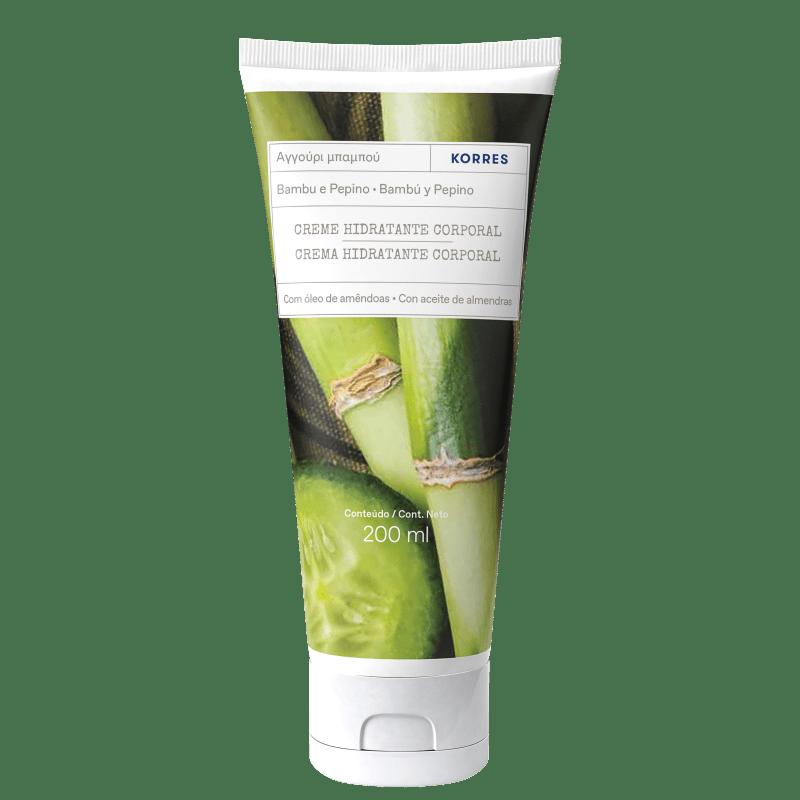 Korres Pepino e Bambu Creme Desodorante Hidratante Corporal - 200ml