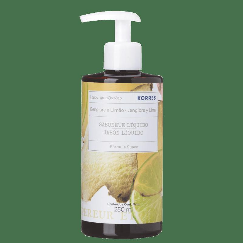Korres Gengibre e Limão - Sabonete Líquido 250ml