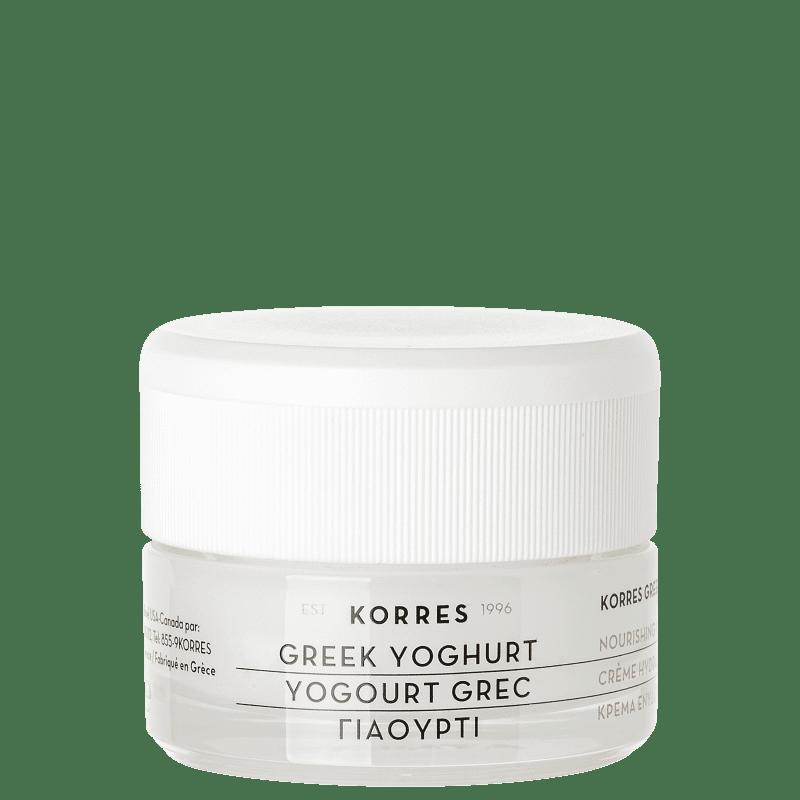 Korres Creme Gel Probiótico Regeneração + Preenchimento – Com iogurte grego – 40ml