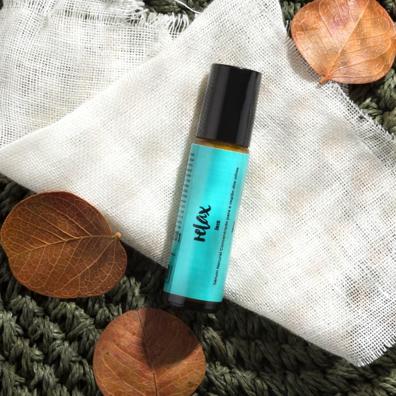 Relax Cosméticos Íris - Sérum Natural para Contorno dos Olhos 10ml