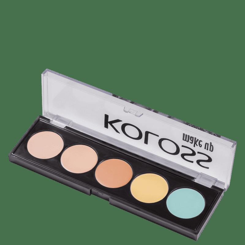 Koloss Camuflagem 03 Perfeição - Paleta de Corretivo