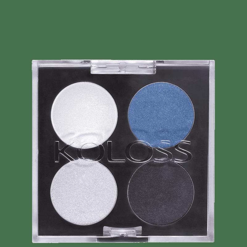 Koloss Make Up Quarteto 01 Elegante - Paleta de Sombras 4g