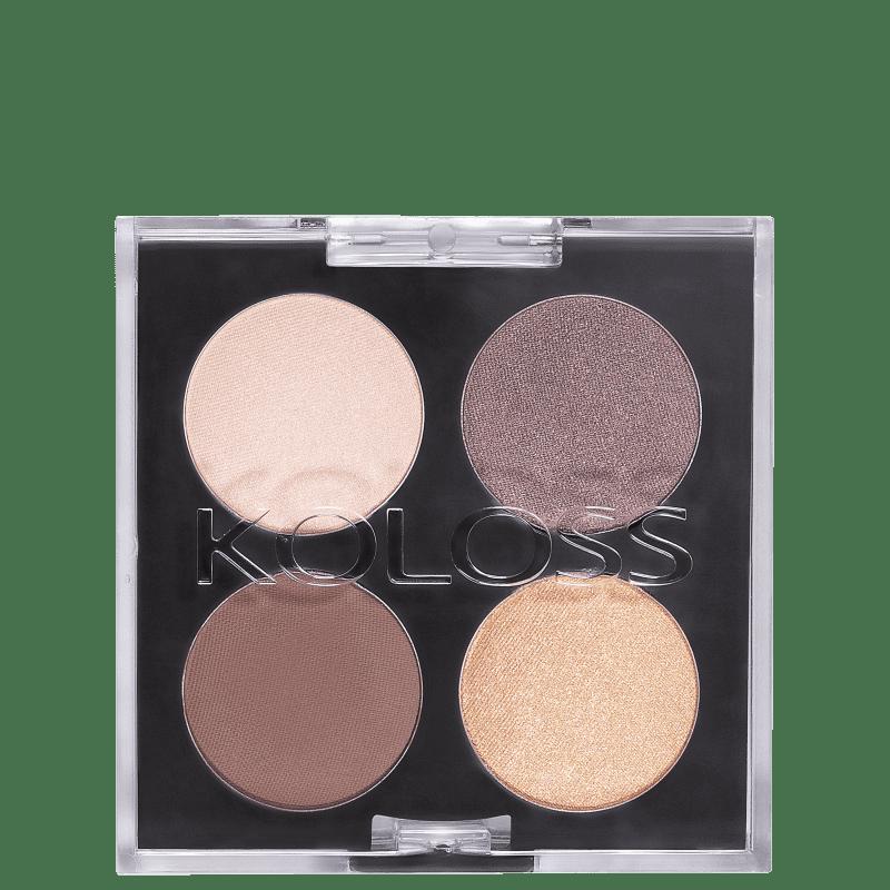 Koloss Make Up Quarteto 02 Clássica - Paleta de Sombras 4g