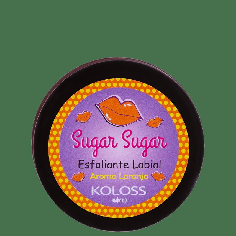 Koloss Sugar Sugar Laranja - Esfoliante Labial