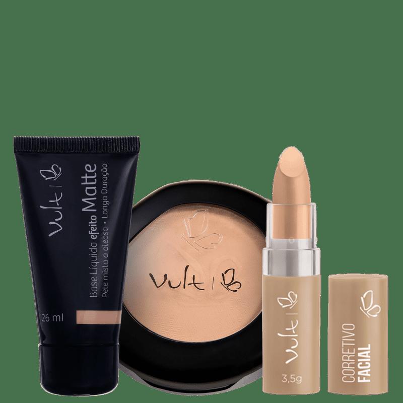 Kit Vult Pele Perfeita Bege 03 (3 produtos)