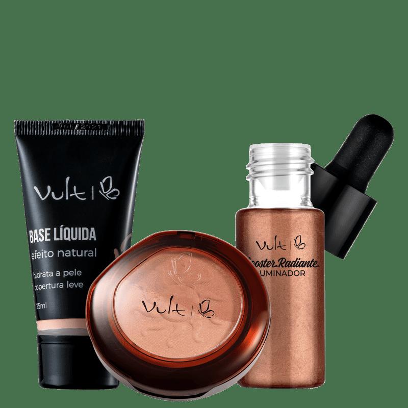 Kit Vult Make Bronzeada Base 01 (3 Produtos)
