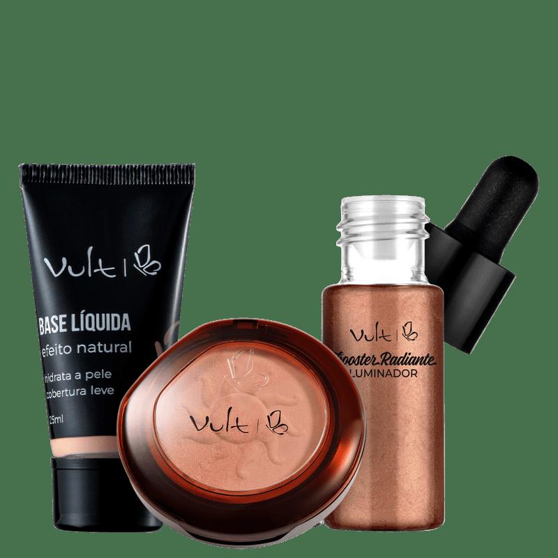 Kit Vult Make Bronzeada Base 03 (3 Produtos)