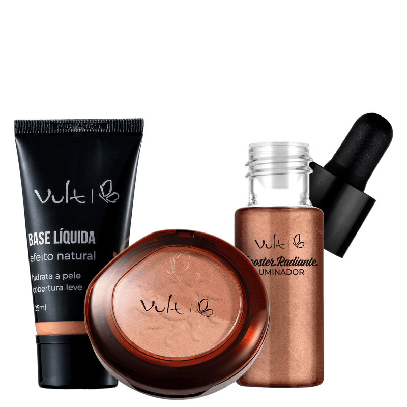 Kit Vult Make Bronzeada Base 06 (3 Produtos)