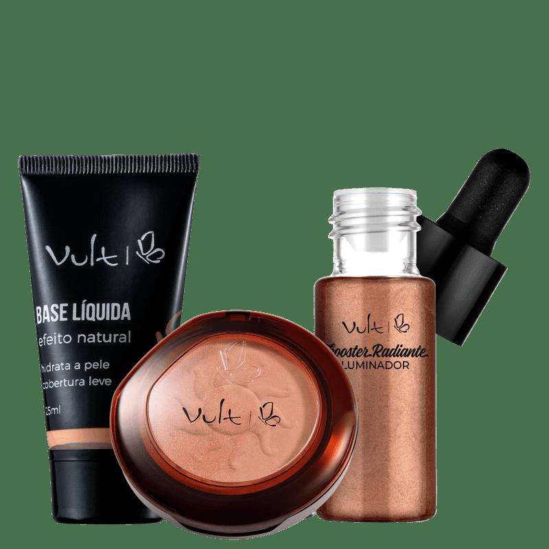 Kit Vult Make Bronzeada 7 (3 Produtos)
