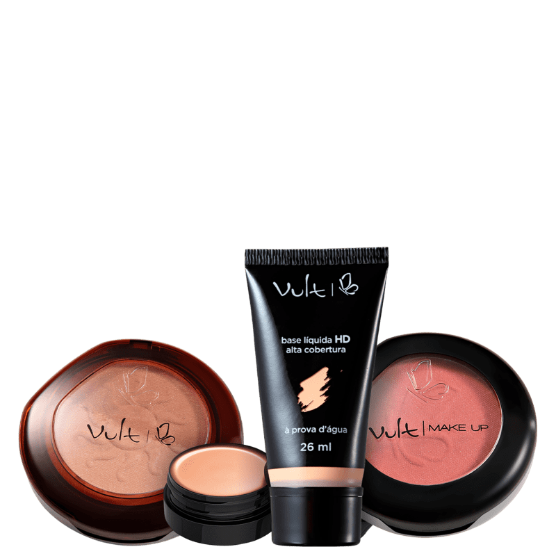 Kit Vult Pele Bronzeada 3 (4 Produtos)