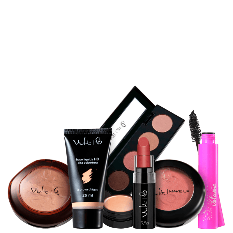 Kit Vult Make Completa Diva (7 Produtos)