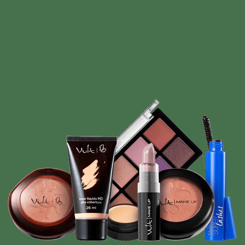Kit Vult Make Completa Tons Frios 5 (7 Produtos)