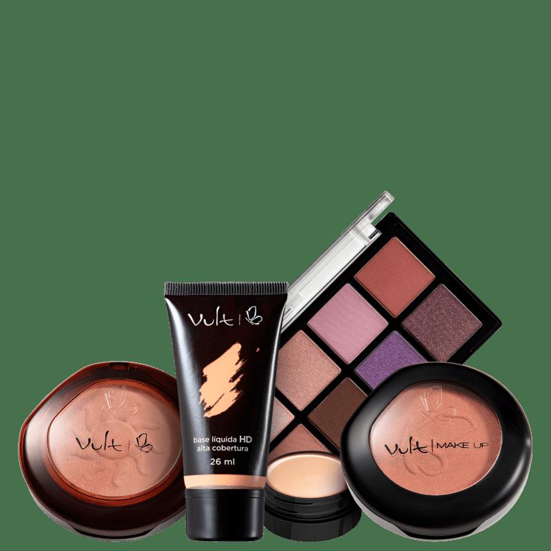 Kit Vult Make Face & Eyes (5 Produtos)