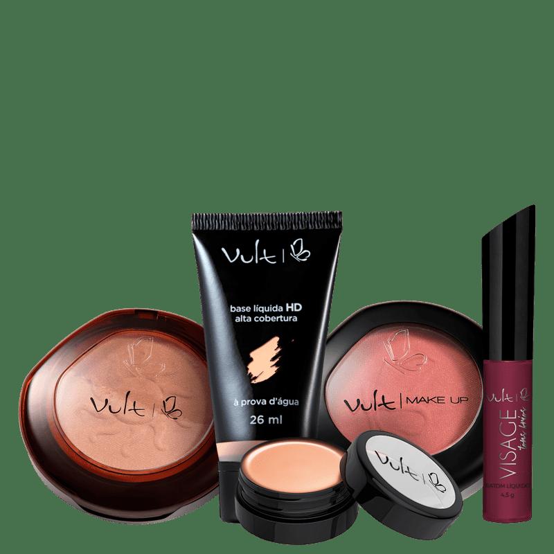 Kit Vult Make Poderosa Violeta (5 Produtos)