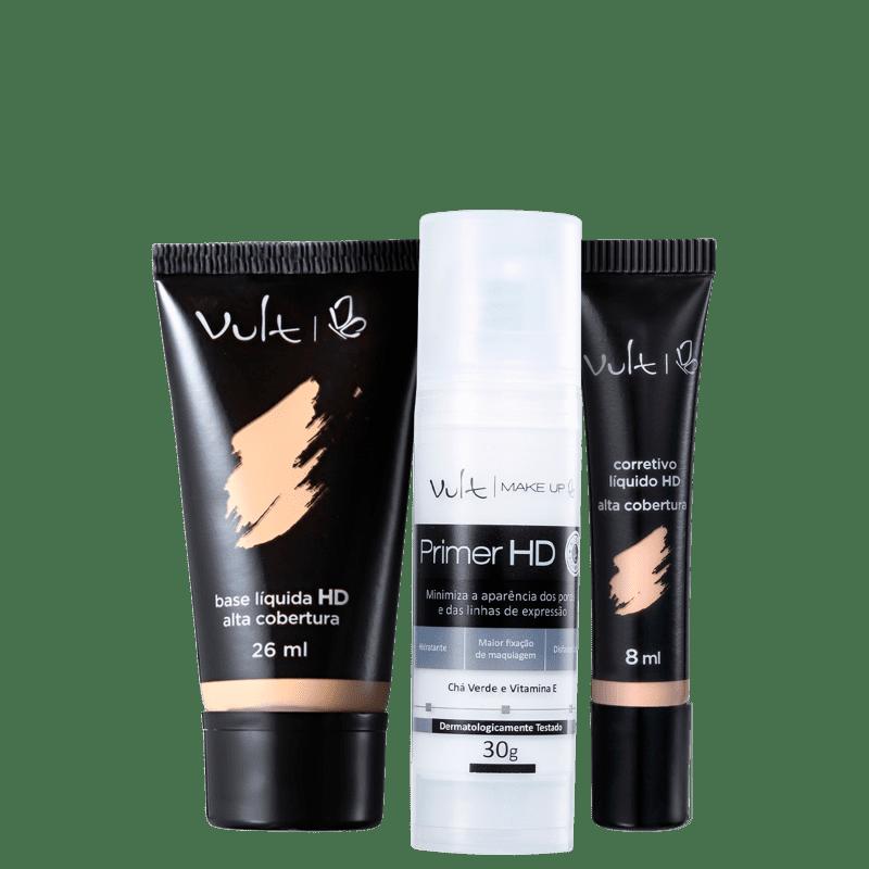 Kit Vult Trio Pele (3 produtos)