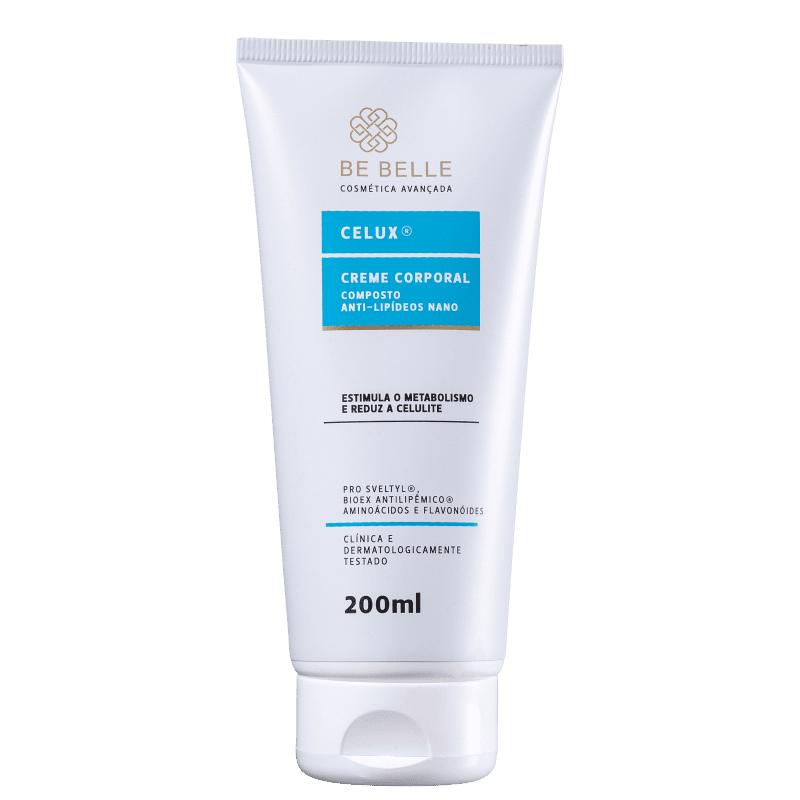 Be Belle Celux - Creme para Celulite 200ml