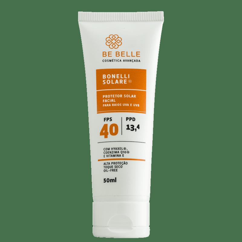 Be Belle Bonelli Solare - Protetor Solar Facial 50ml