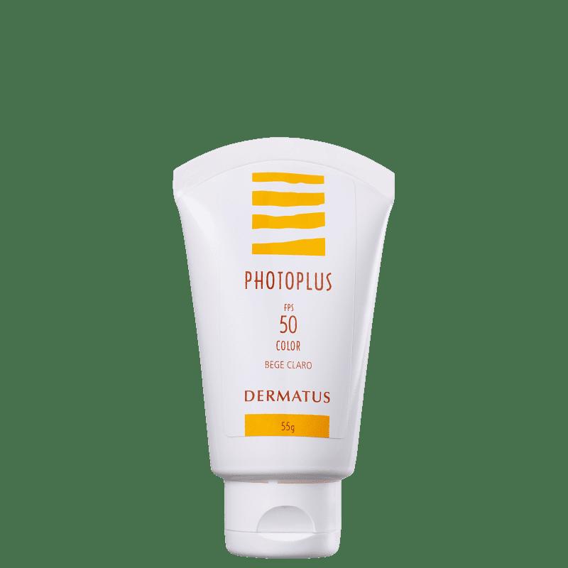 Dermatus Photoplus FPS50 Bege Claro - Protetor Solar Facial 55g