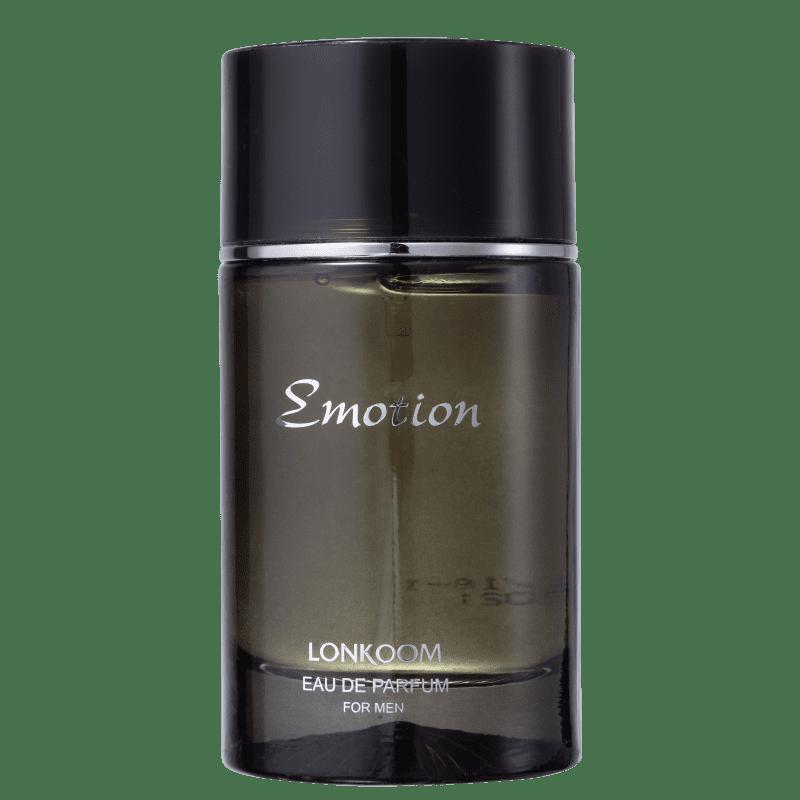 Emotion Black For Men Lonkoom Eau de Parfum - Perfume Masculino 100ml