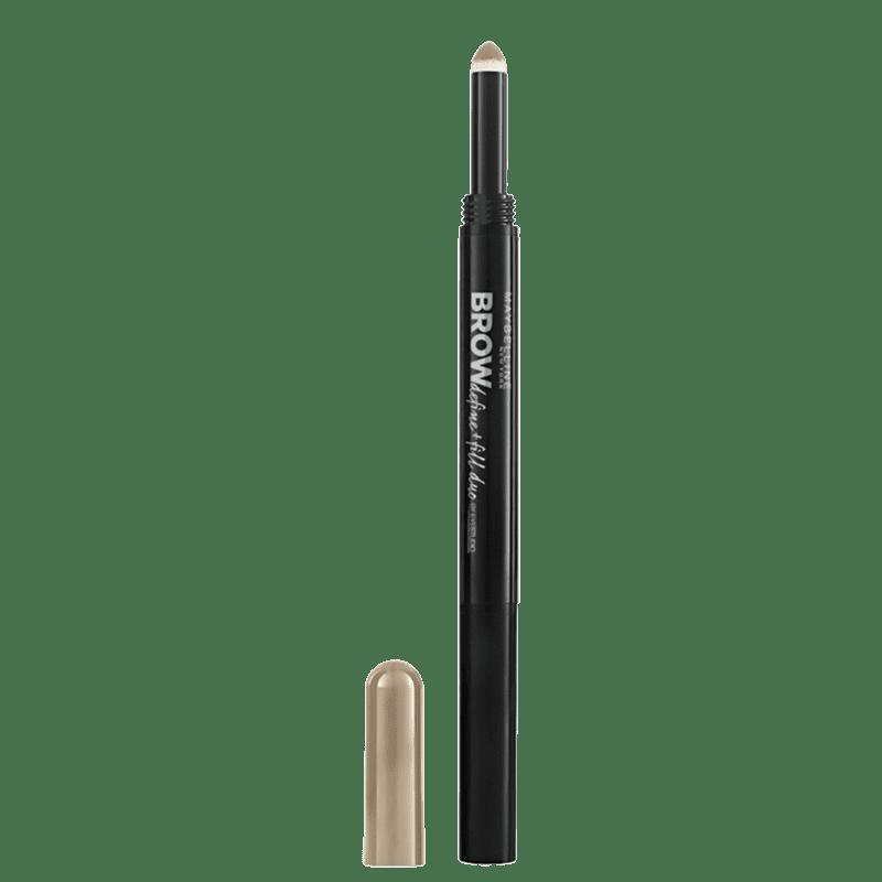 Maybelline Define Fill 2 em 1 Brown - Lápis para Sobrancelhas