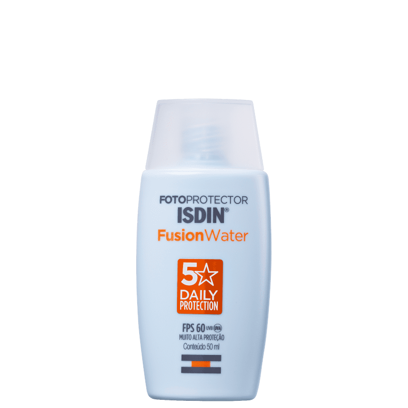 ISDIN Fotoprotector Fusion Water 5 Stars FPS 60 - Protetor Solar Facial 50ml