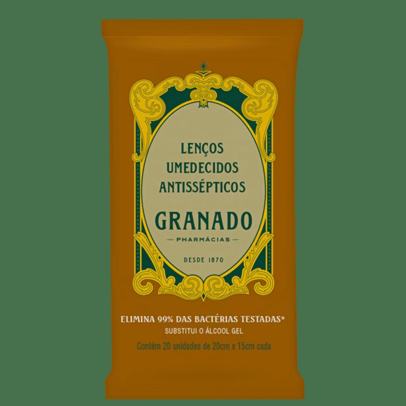 Granado Antisséptico - Lenços Umedecidos (20 unidades)