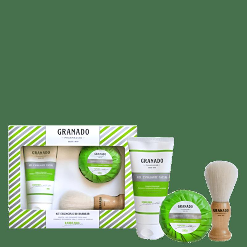 Kit Granado Essenciais do Barbear (3 Produtos)