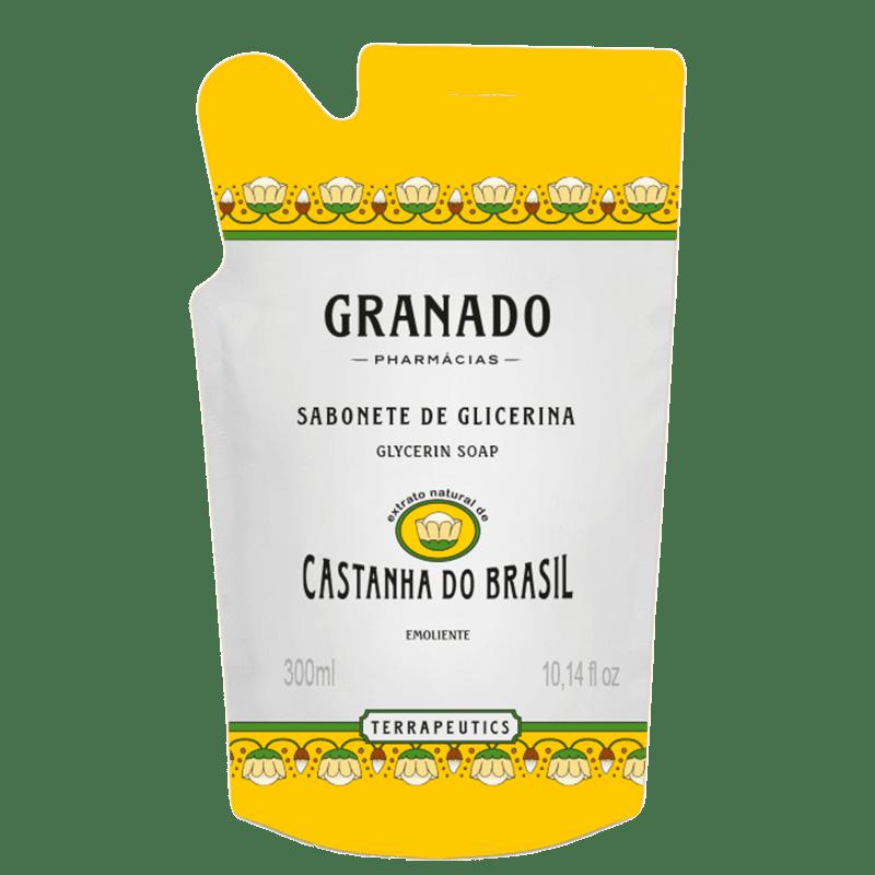 Granado Terrapeutics Glicerina Castanha do Brasil Refil - Sabonete Líquido 300ml