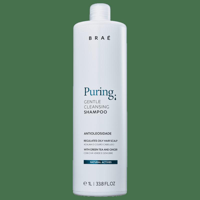 BRAÉ Puring Anti-oleosidade - Shampoo 1000ml