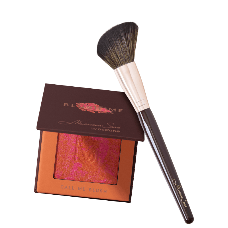 Kit Mariana Saad by Océane Blush Me Call Me MS6 (2 Produtos)
