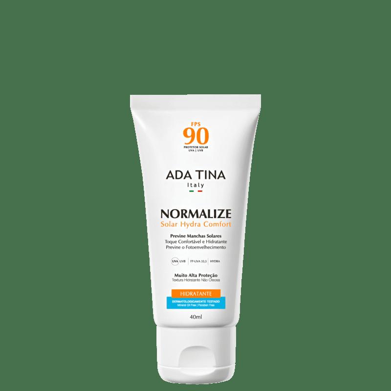 Ada Tina Normalize Solar Hydra Comfort FPS 90 - Protetor Facial 40ml