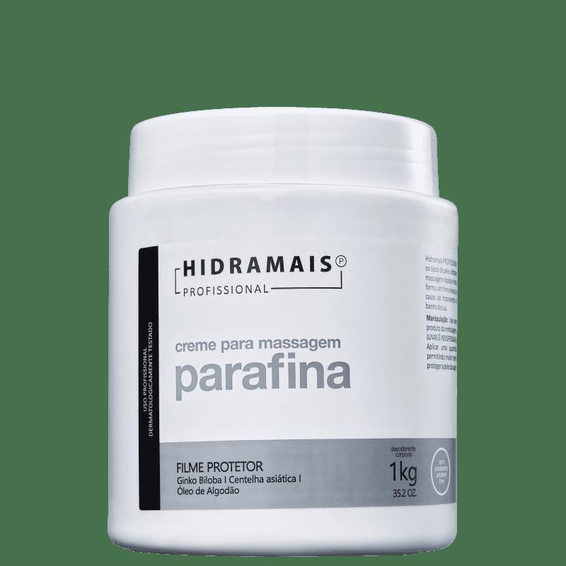 Hidramais Parafina - Creme de Massagem 1000g