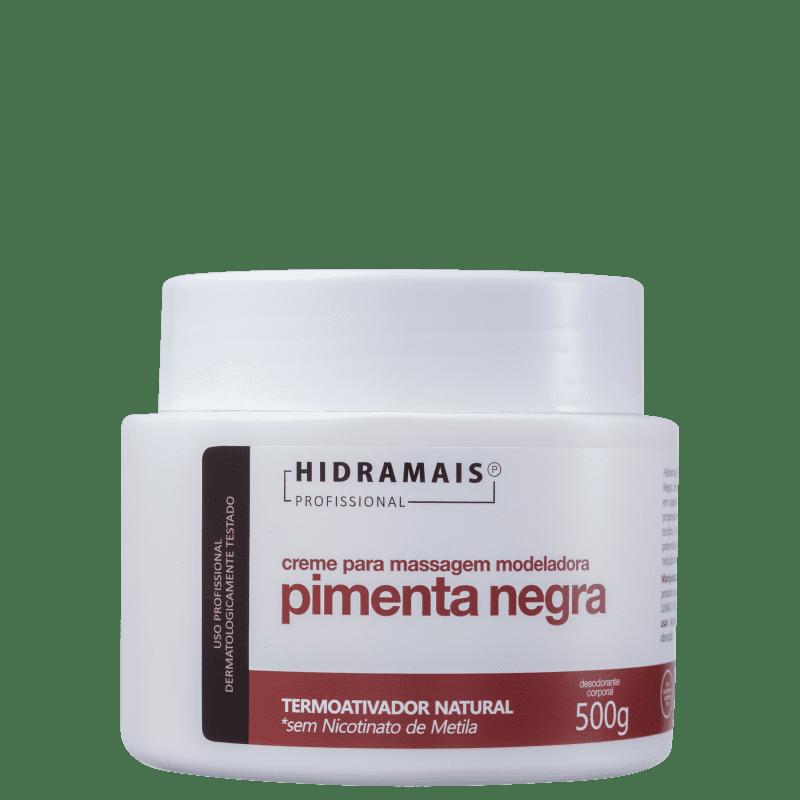 Hidramais Pimenta Negra - Creme de Massagem 500g