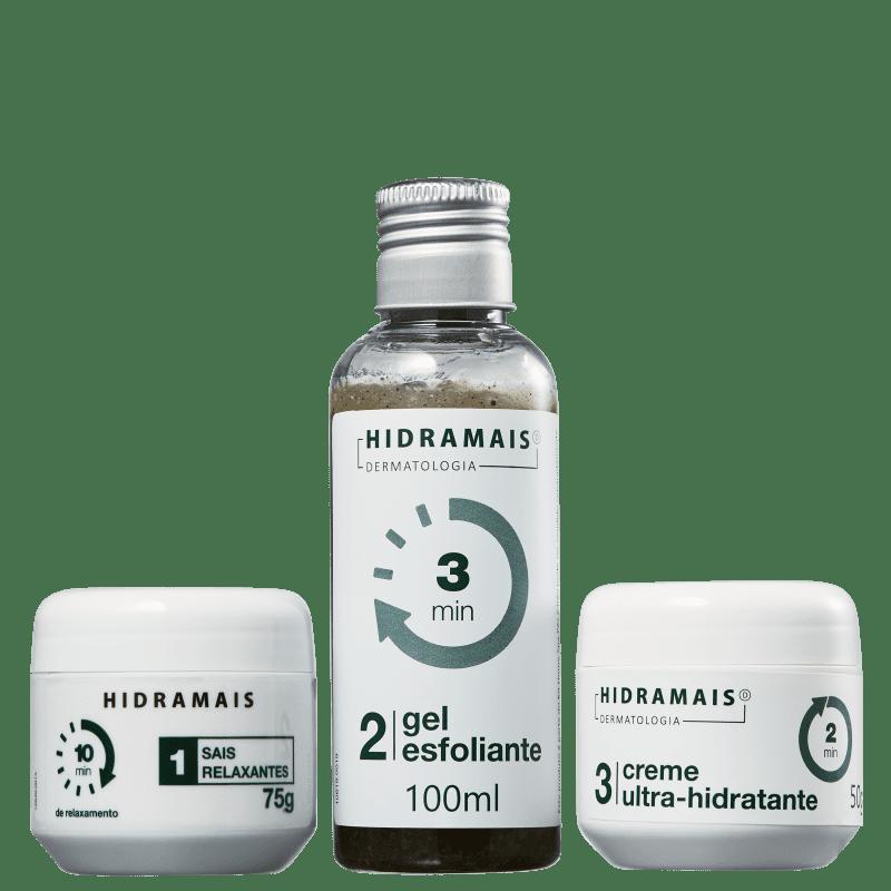 Kit Hidramais Home Spa Pés (3 Produtos)