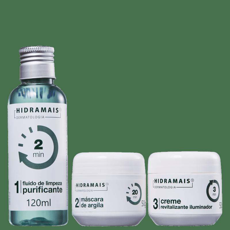 Kit Hidramais Home Spa Rosto (3 Produtos)