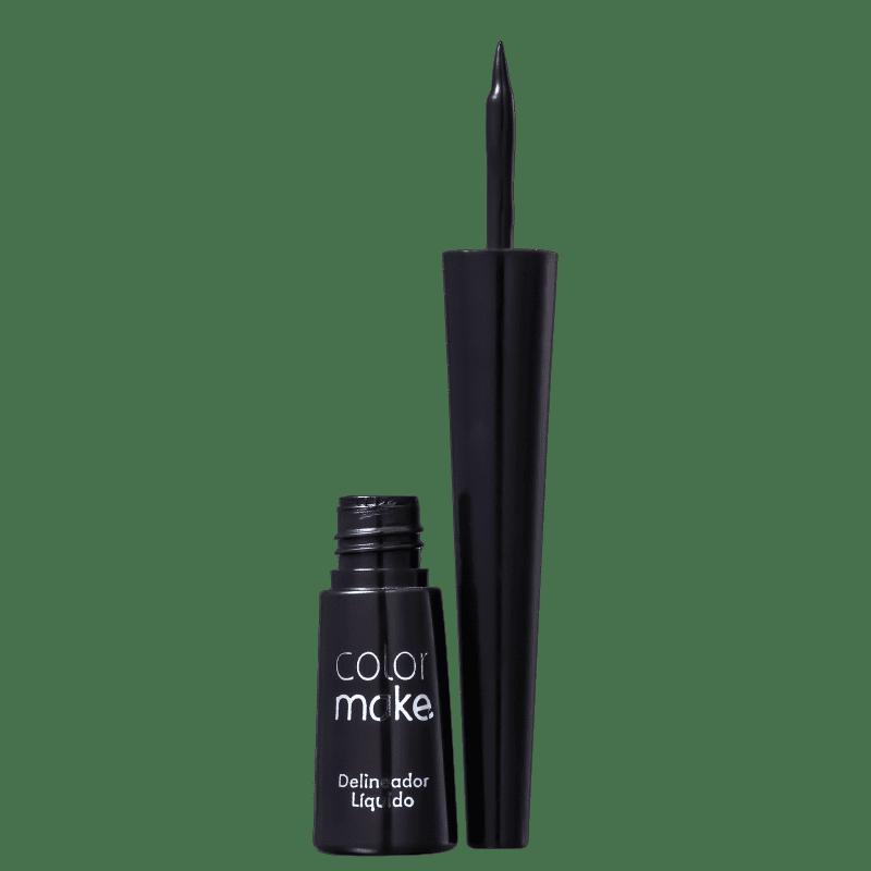Colormake Preto - Delineador Líquido 3ml