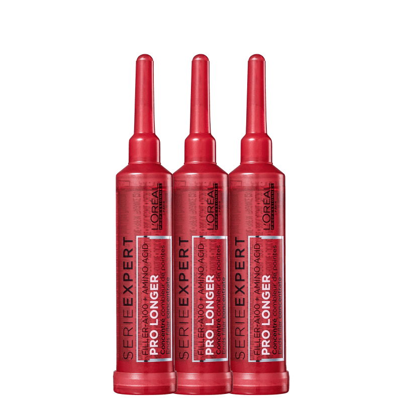 Kit L'Oréal Professionnel Serie Expert Pro Longer - Ampola Capilar 3x15ml