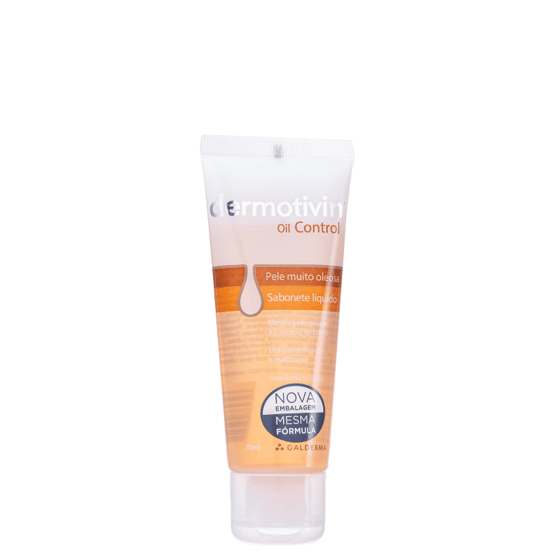 Dermotivin Oil Control - Sabonete Líquido Facial 70ml