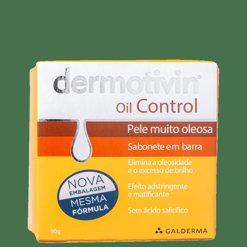 Dermotivin Oil Control - Sabonete em Barra Facial 90g