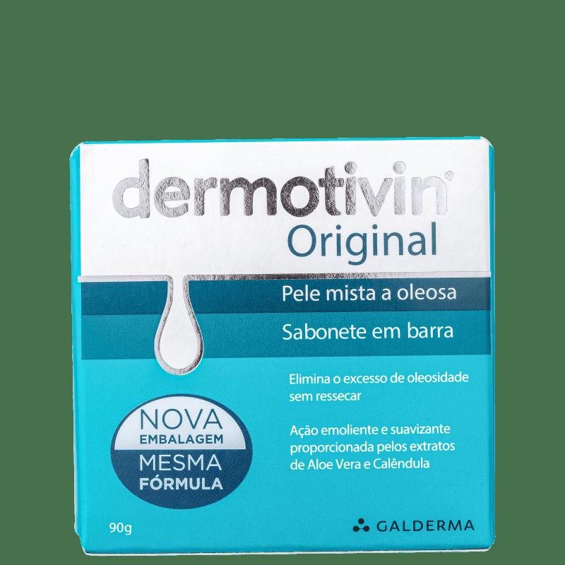 Dermotivin Original - Sabonete em Barra Facial 90g