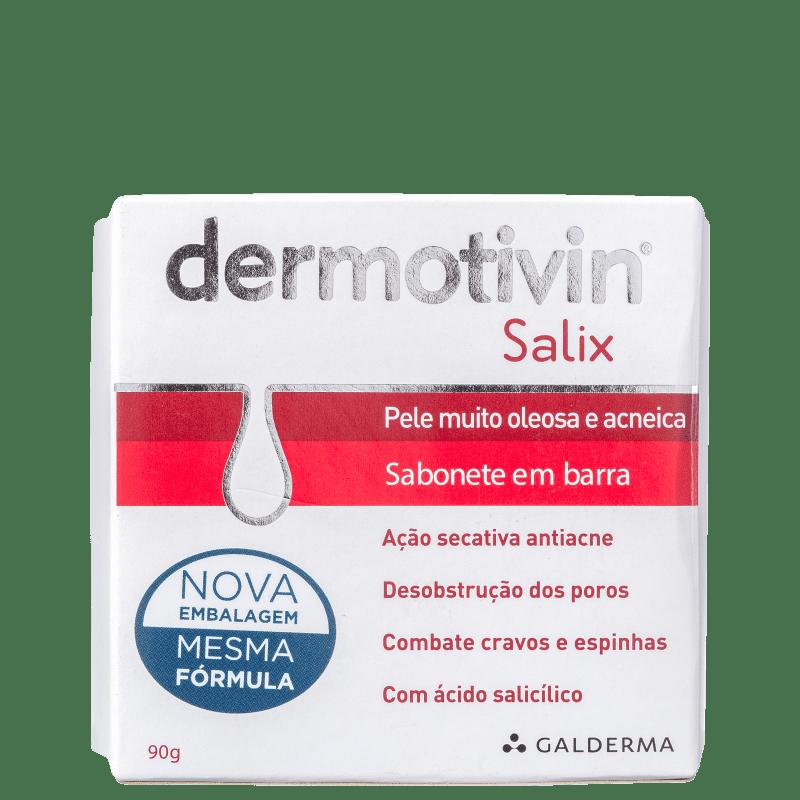 Dermotivin Salix - Sabonete em Barra Facial 90g