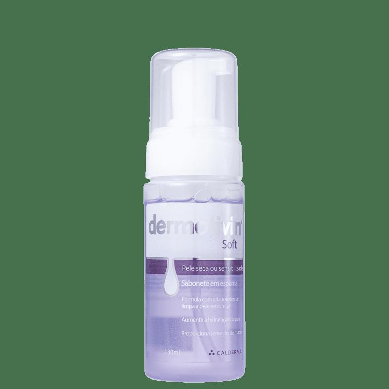 Dermotivin Soft - Espuma de Limpeza Facial 130ml