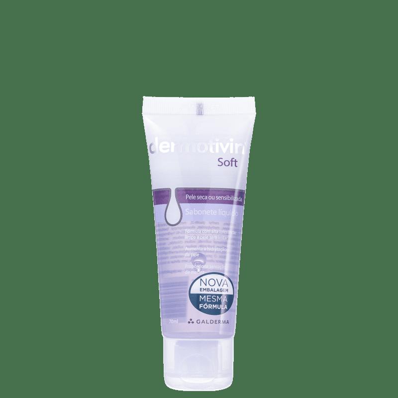 Dermotivin Soft - Sabonete Líquido Facial 70ml