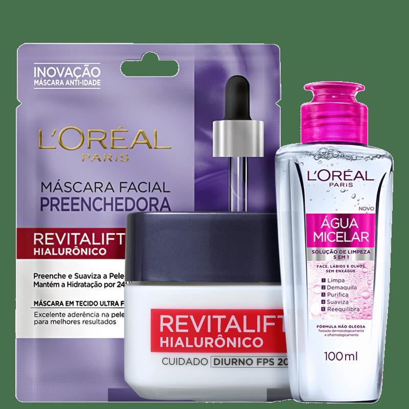 Kit L'Oréal Paris Revitalift & Expertise (3 Produtos)