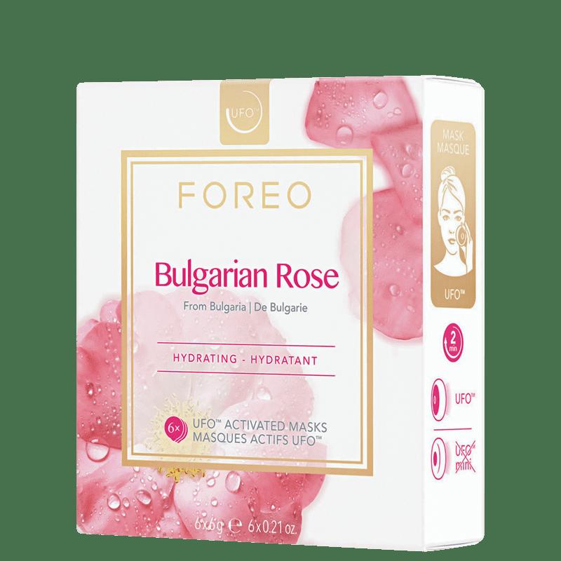 FOREO UFO Bulgarian Rose - Máscaras Faciais 6x6g