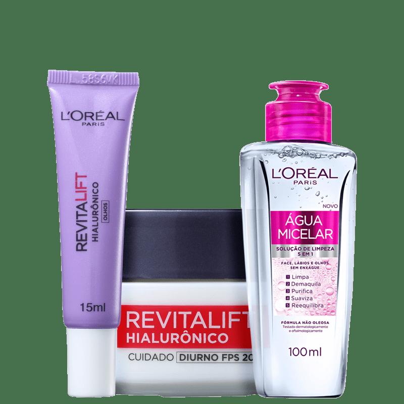 Kit L'Oréal Paris Anti-Idade (3 Produtos)