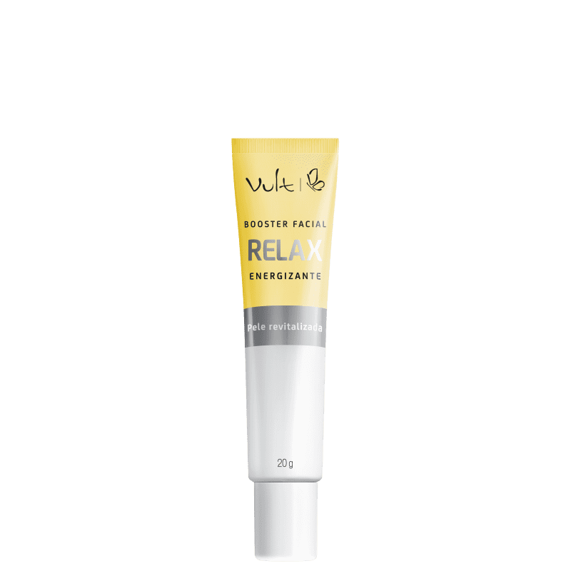 Vult Booster Facial Relax Energizante - Anti-Idade 20g