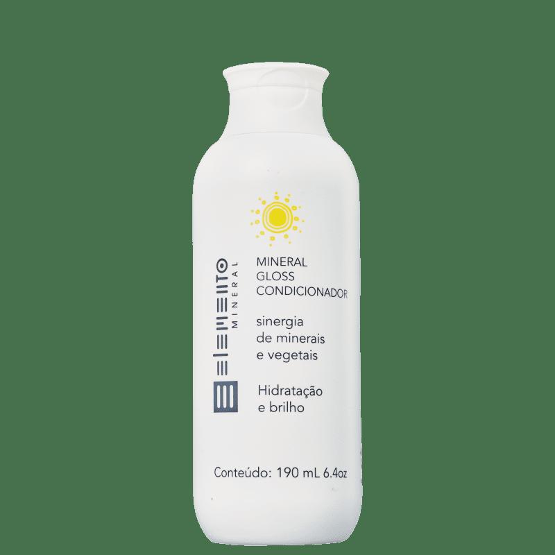 Elemento Mineral Mineral Gloss - Condicionador 190ml