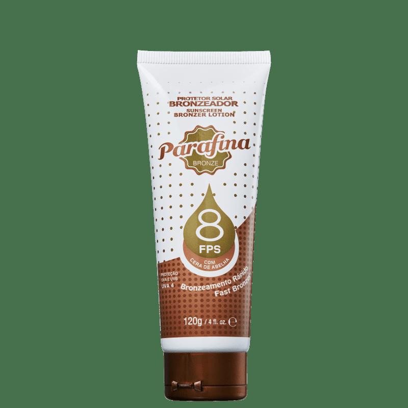 Parafina Bronze FPS8 - Bronzeador 120g