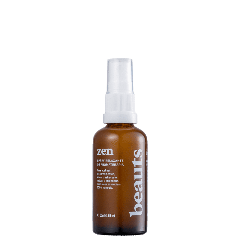 Beauts Zen Aromaterapia com Óleos Essenciais - Spray Relaxante 50ml